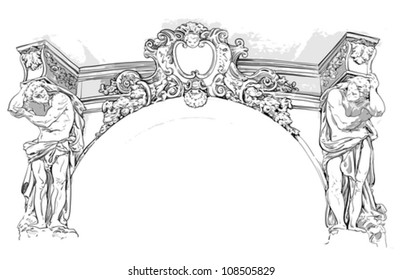 antique drawing