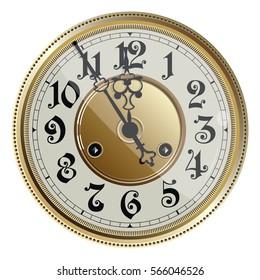 vintage clock face images stock photos vectors shutterstock