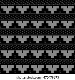 Antique seamless background 490 sawtooth geometry cross
