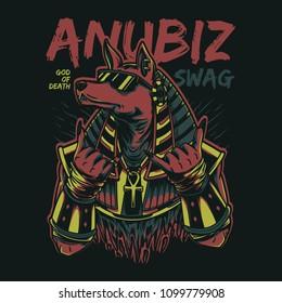 Anubiz Swag Illustration