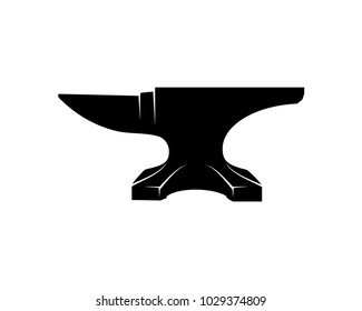 Anvil for Blacksmith Illustration Symbol Vector Logo Silhouette