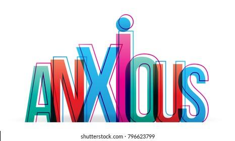 Anxious word vector