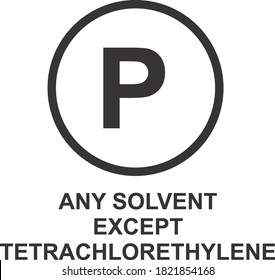 ANY SOLVENT EXCEPT ICON, SIGN AND SYMBOL