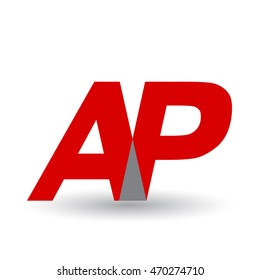 AP company group linked letter logo