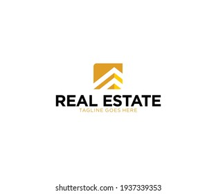 Apartment Building Real Estate Business Chart Logo design Urban City