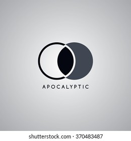apocalypse logo template