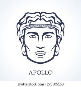Apollo, ancient greek god of music