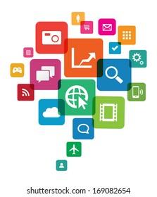 App cloud technology.