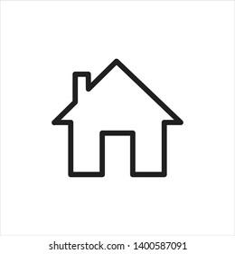 app home icon flat design-vector