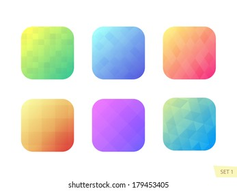 App icons background set