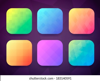 App icons background set