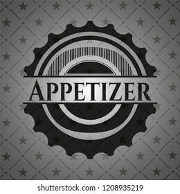 Appetizer black emblem. Vintage.
