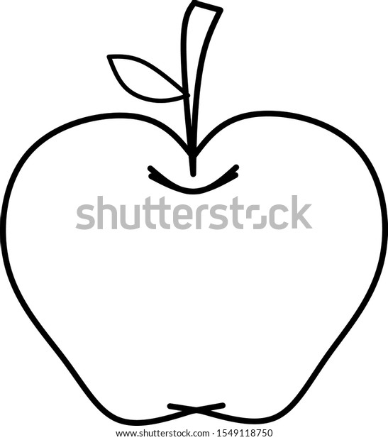 Coloring Apple Apple Coloring Picture Apple Colouring Images ... | 620x547