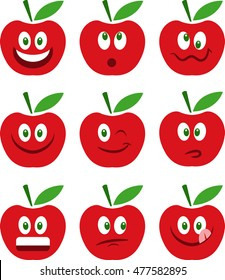 Apple emoticons