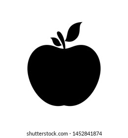 apple icon isolated on white background, Apple fruits vector icon, Apple icon image.  Apple Icon Vector illustration, EPS10.