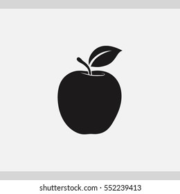 apple  icon. One of set web icons