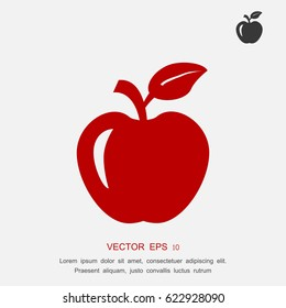 apple icon, vector best flat icon EPS 10