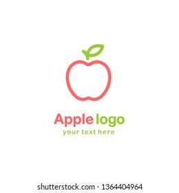 Apple  Logo Symbol Line Style