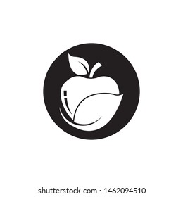 Apple logo vector illustration design