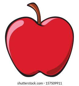 cartoon apples images stock photos vectors shutterstock rh shutterstock com cartoon apples with faces cartoon apples showing support