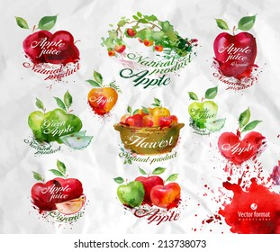 Apples.Vector format