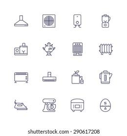 Appliances icons