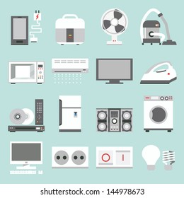 appliances icons design, vector