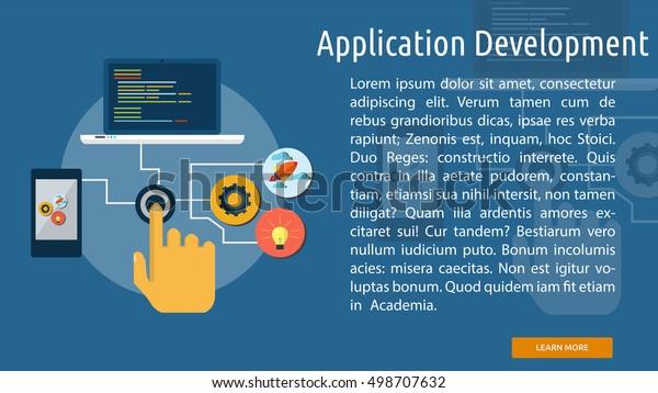 Application Development Conceptual Banner