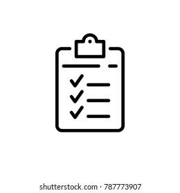application form vector icon