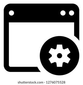 Application Programming Interface API Icon