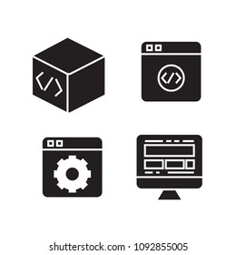 application programming interface icons