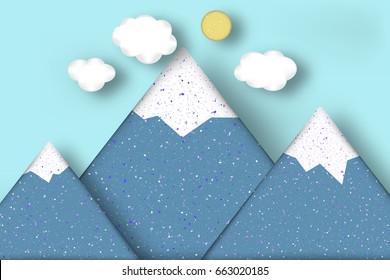 3d paper cloud images stock photos vectors shutterstock