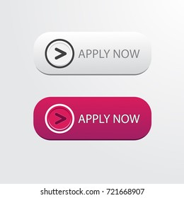 apply now button vector for web