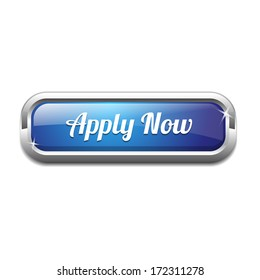 Apply Now Rectangular Shiny Button