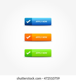 Apply Now Web Buttons