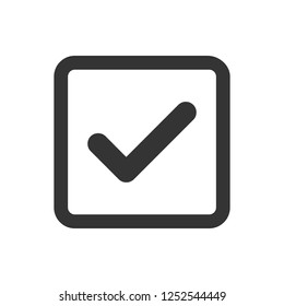 Approve vector icon