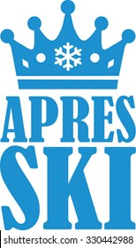 Apres Ski with crown