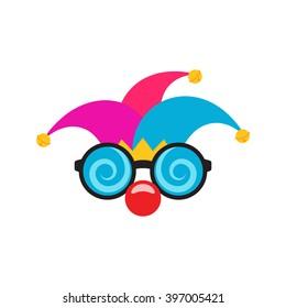 April Fool's Day / Jester Hat / Funny Glasses