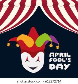 april fools day mask joker hat