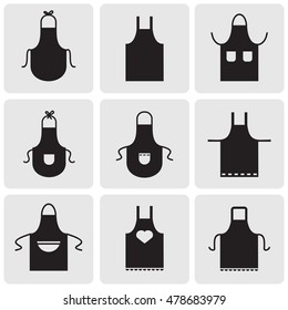Aprons icons