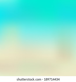 aqua and beige blurred background, suitable for flat style, vector illustration, eps 10, with gradient mesh
