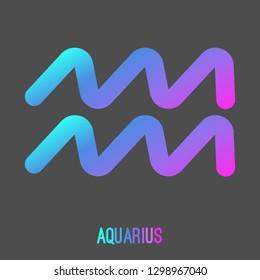 Aquarius Symbol Images, Stock Photos & Vectors | Shutterstock