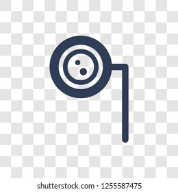 Ar monocle icon. Trendy Ar monocle logo concept on transparent background from Artificial Intelligence collection