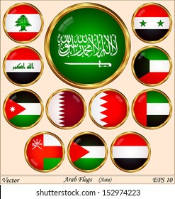 Arab Flags -  asia