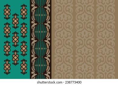 Arabian Decorative Wallpaper Background