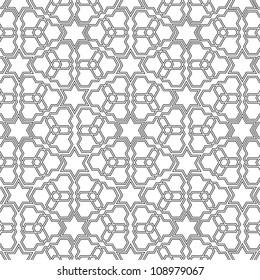 Arabian delicate pattern. Vector illustration
