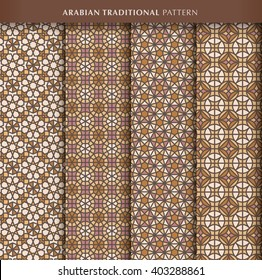 Arabian pattern collection.