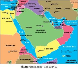 Arabian Peninsula Images, Stock Photos & Vectors | Shutterstock