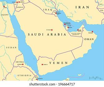 Imágenes, fotos de stock y vectores sobre Map Gulf Aden ...