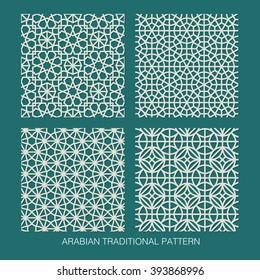 Arabian traditional pattern